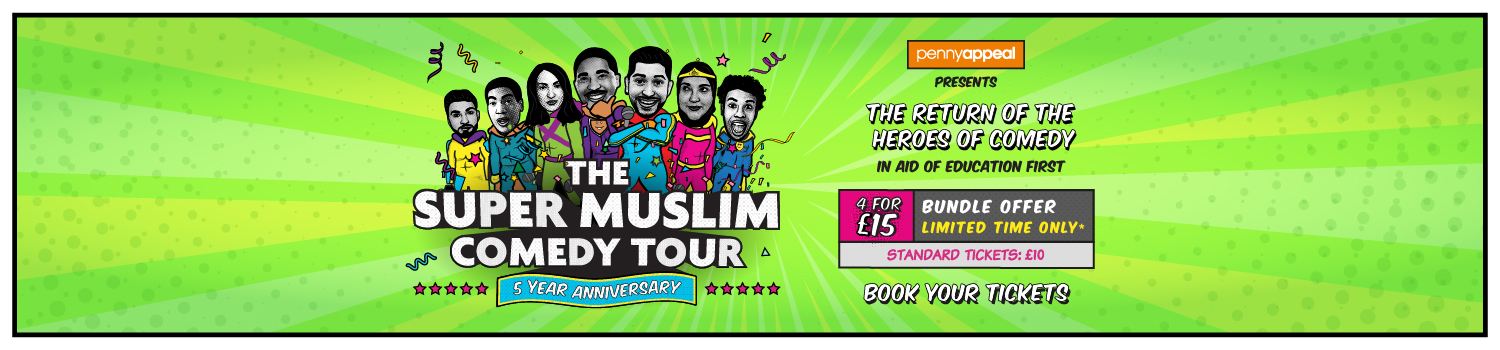 THE SUPER MUSLIM COMEDY TOUR