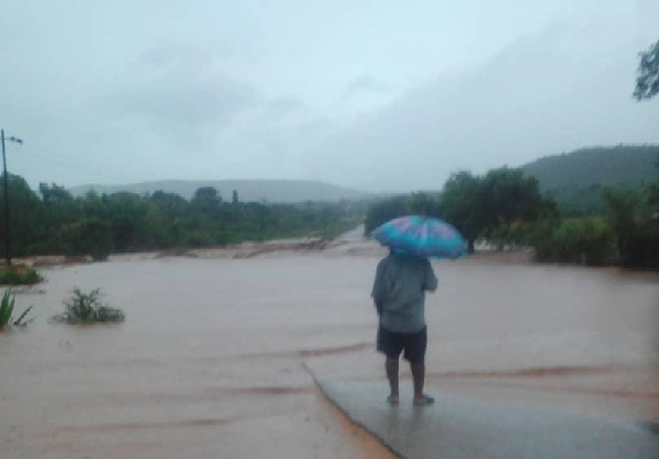 Mozambique Cyclone Idai Flooding