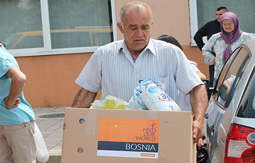 Penny Appeal providing Food in Bosnia-Herzegovina