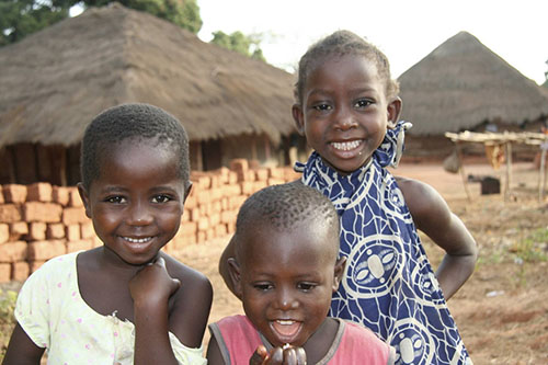 Children in Guinea Bissau