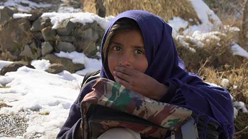 Hungry Pakistani Girl