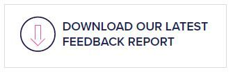 Download our latest feedback report