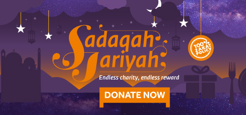 Donate now your Sadaqah Jariyah