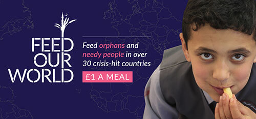 Feed orphans and needy people for 1 pound