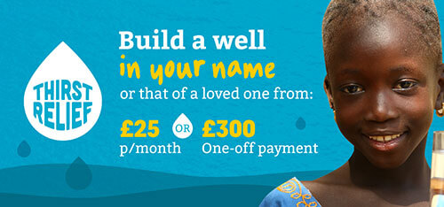 Build a Well for £25 a month