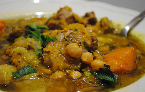 Lamb Stew With Pumpkin