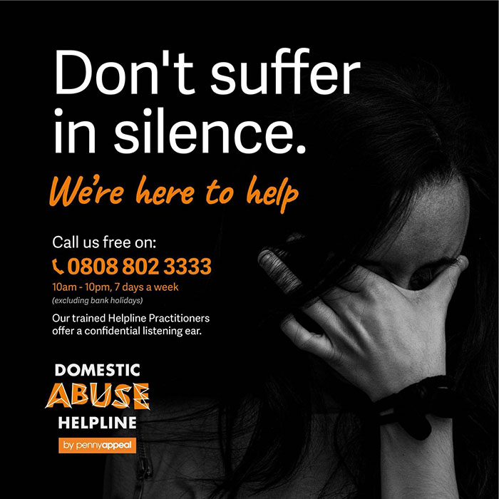 Don't suffer in Silence. We are here to Help