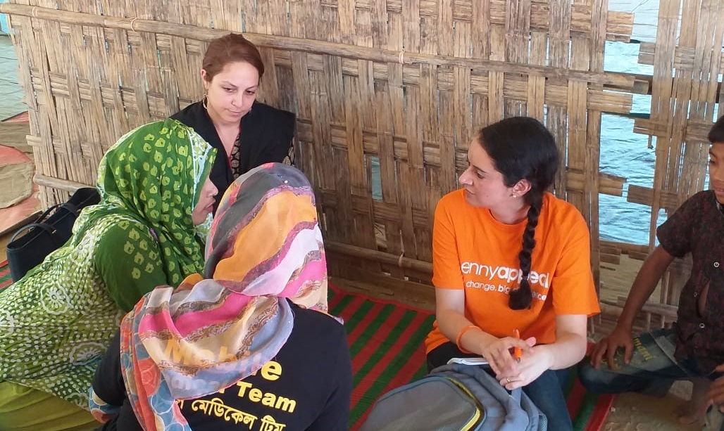 Penny Appeal helping Rohingya Women