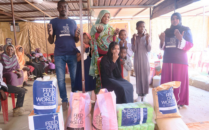 Feed Our World in Sudan