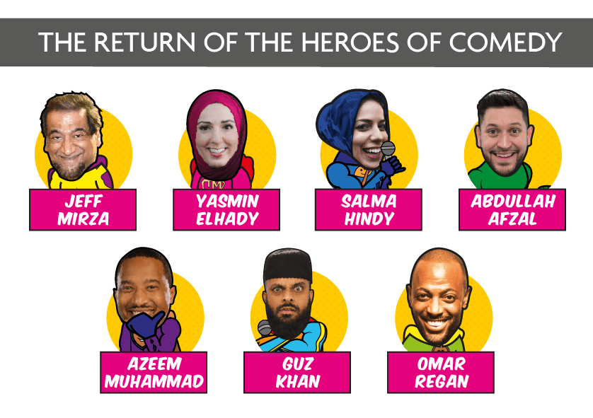 Our Super Muslim Comedians