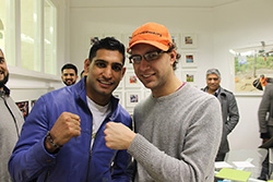 Amir Khan at Penny Appeal