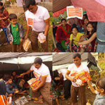 Penny Appeal delivering aid in Nepal
