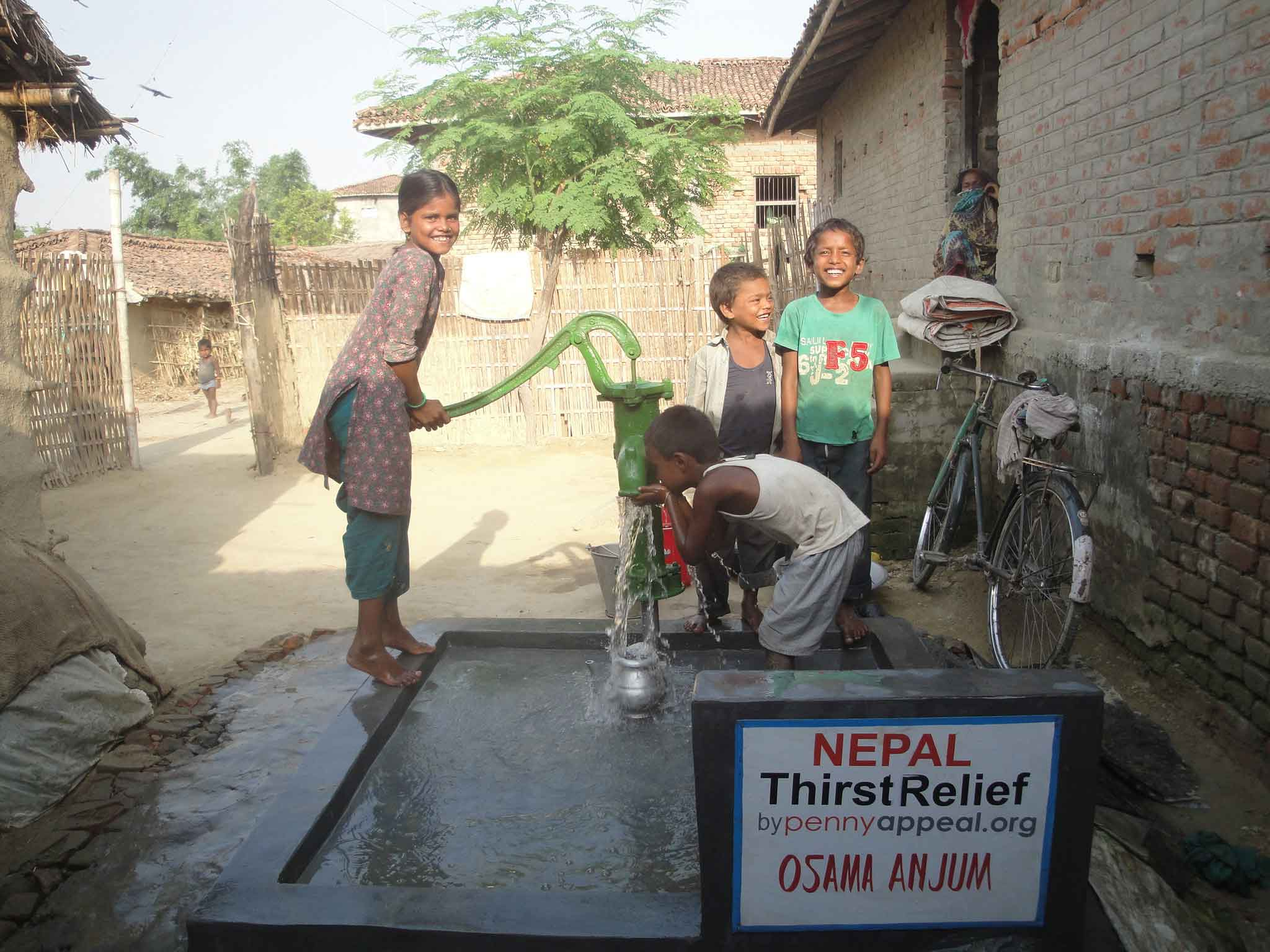 Thirst Relief well in Nepal