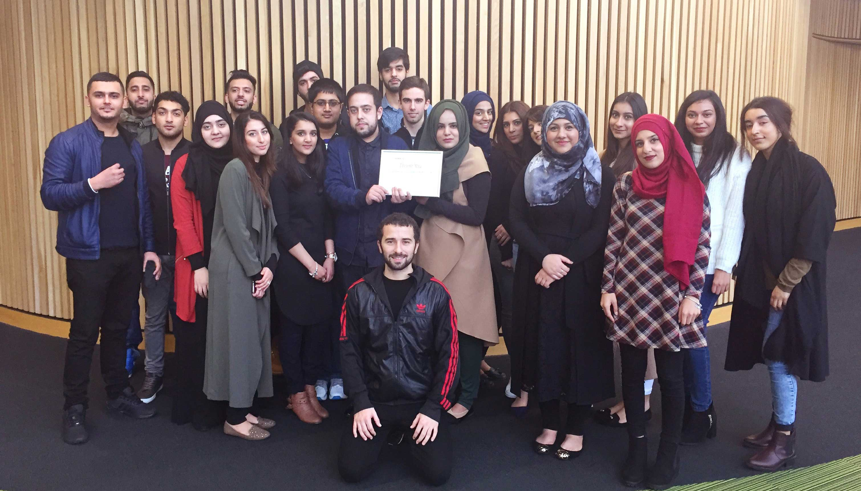Bradford College students