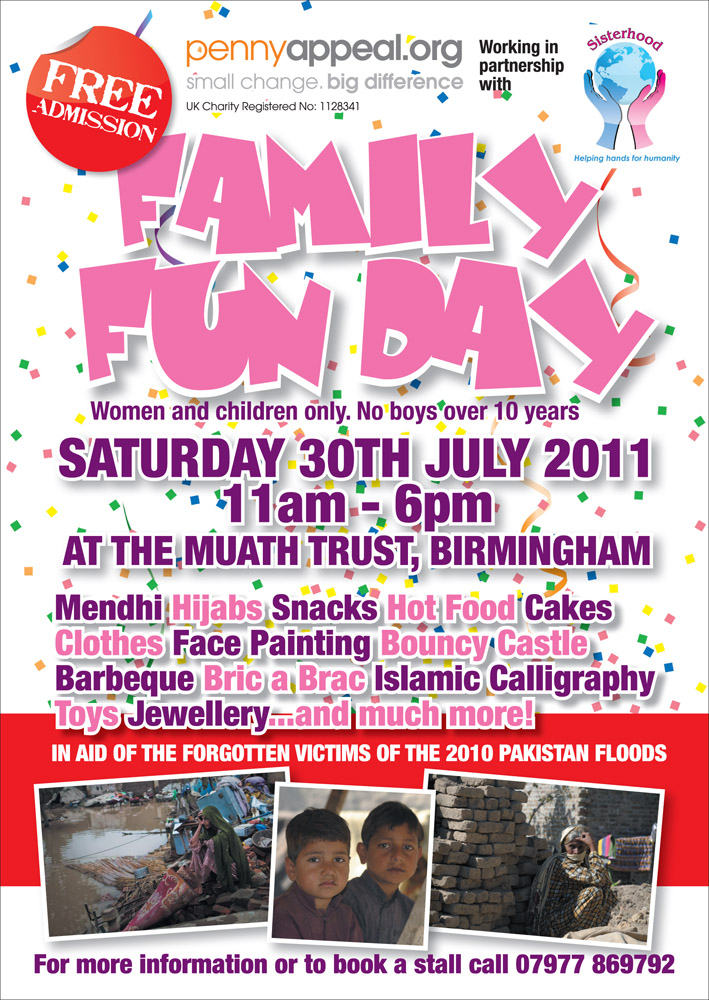 Sisterhood Helpinghands Family Fun Day
