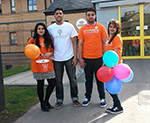 #TeamOrange volunteers take part in Sadaqa Day