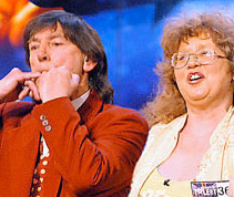 Don the Whistler and his wife Thelma on Britain's Got Talent.