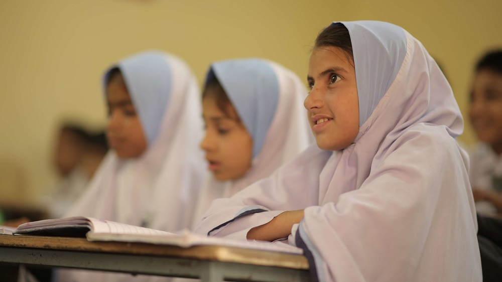 Orphan Girl Studying Islam