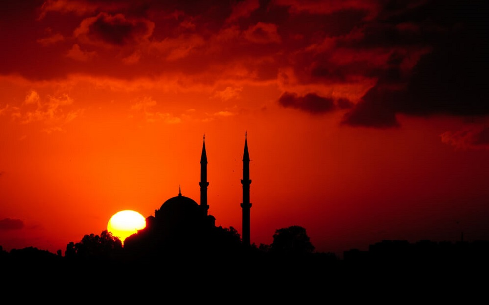 Sunset Fasting Mosque